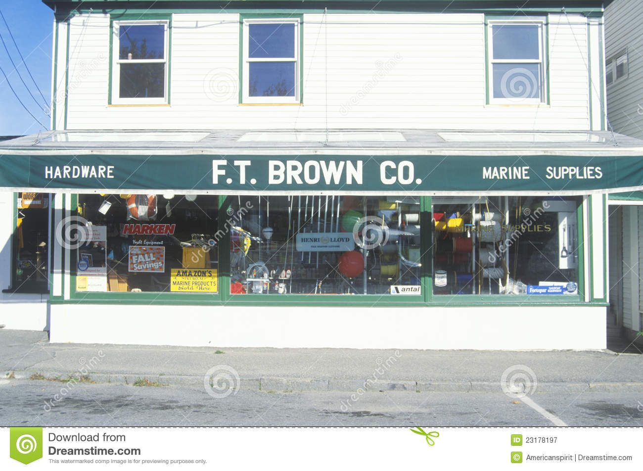 Small Town Hardware Store Editorial Photography Image