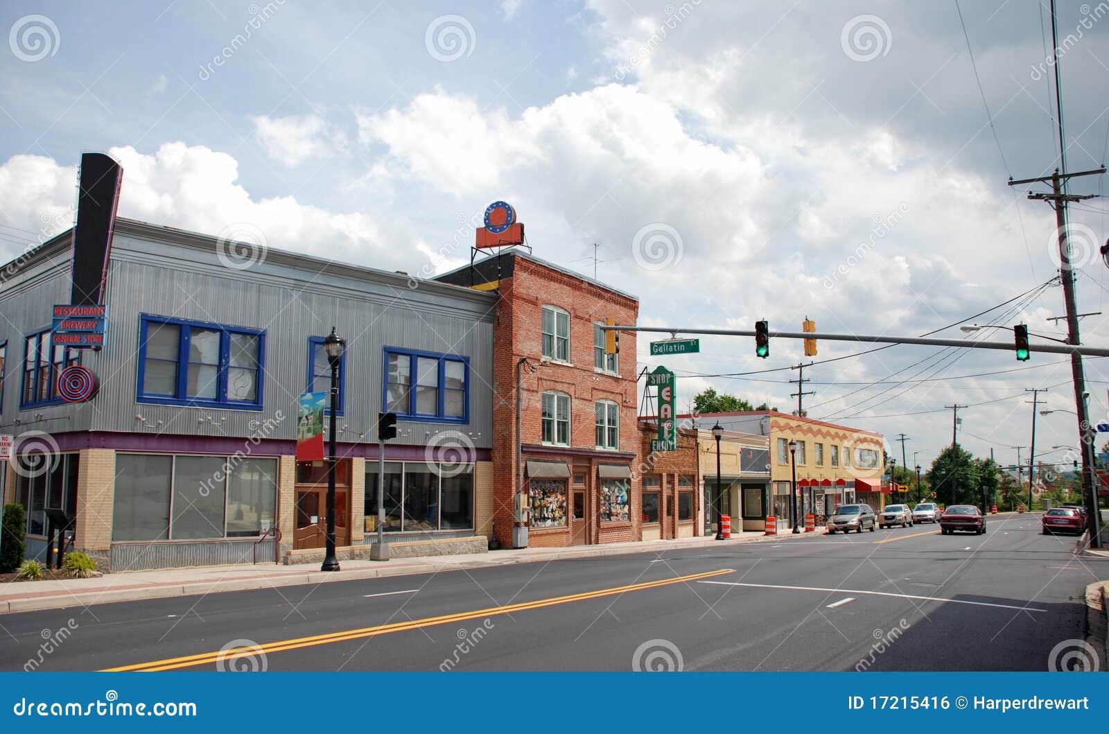 Small Town Main Street 8 Hyattsvill MD