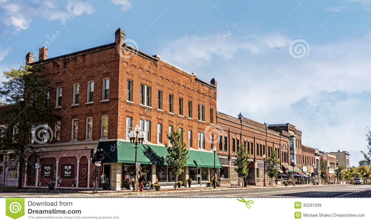 small-town-main-street-photo-typical-streetin-united-states-america ...
