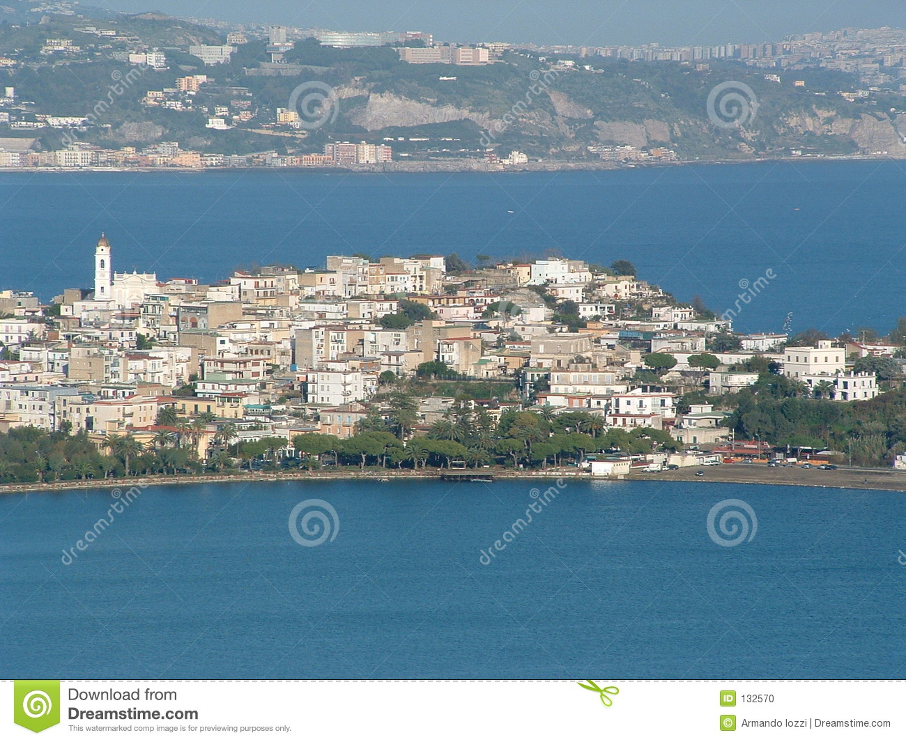 Small Town in Naples - Italy