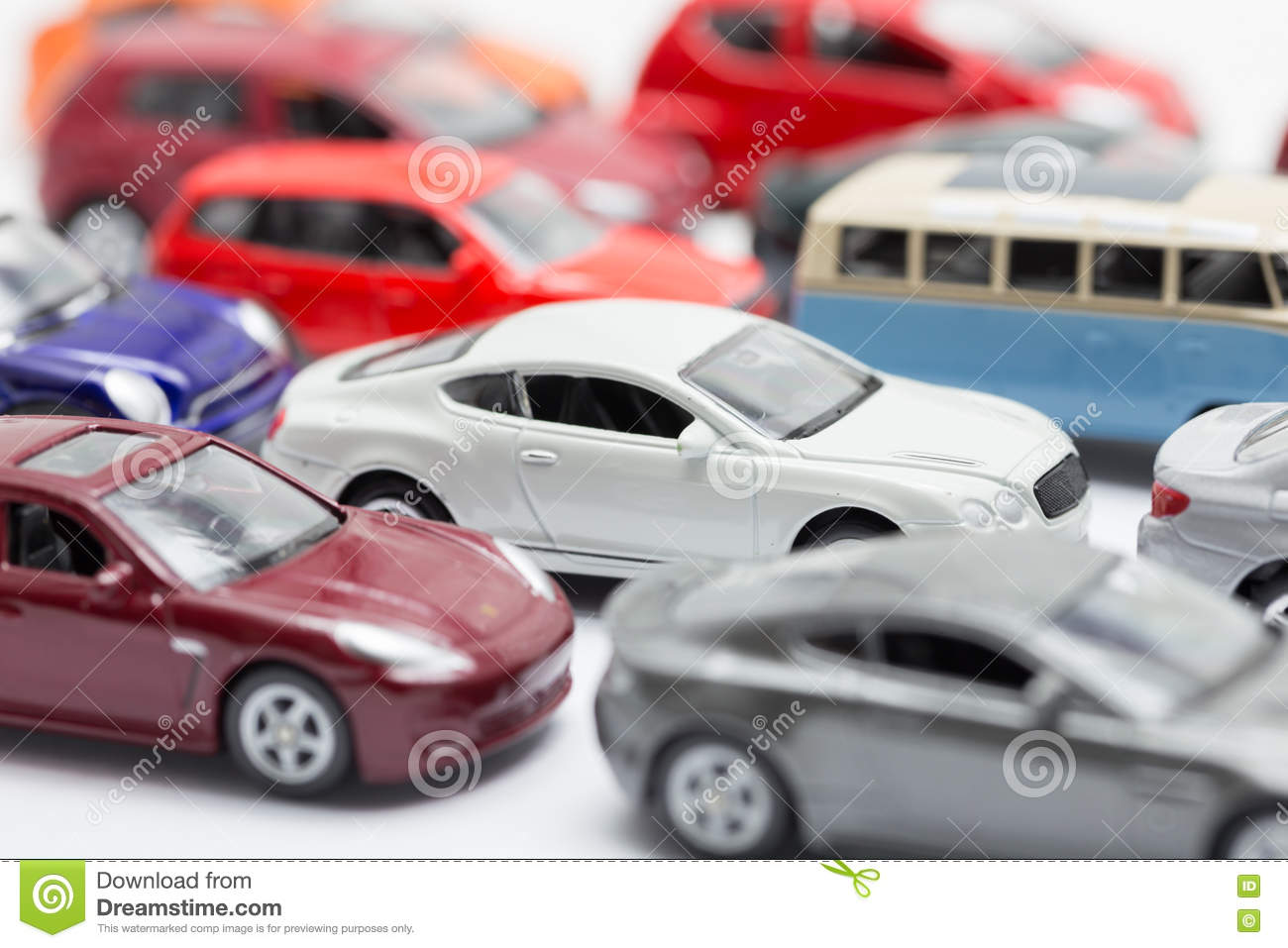 Small Toy Cars : Small toy cars stock photo image