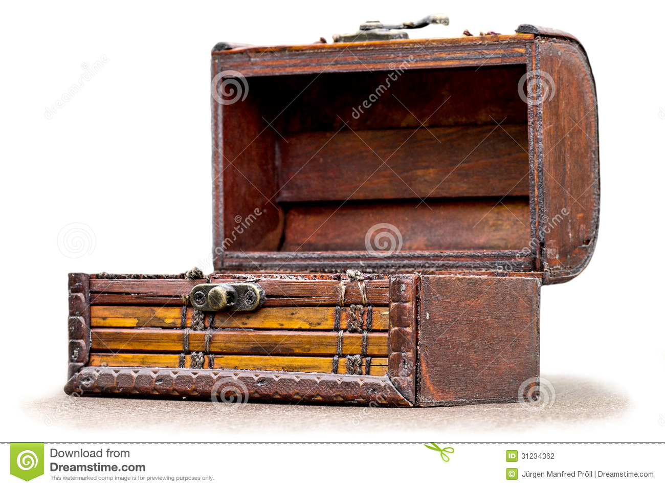 Small Treasure Chest Stock Photography Image 31234362