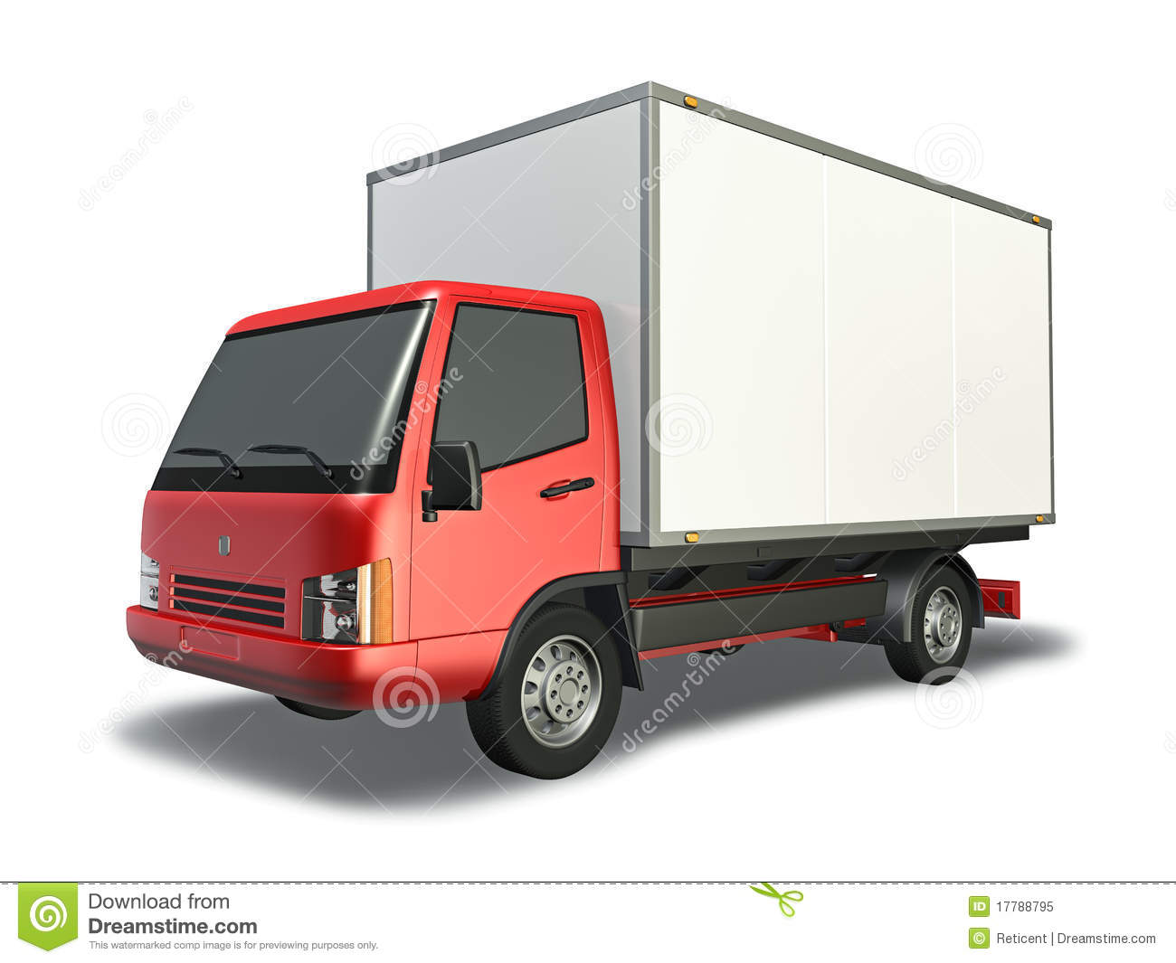 small truck stock illustration image of vehicle small 17788795. Black Bedroom Furniture Sets. Home Design Ideas