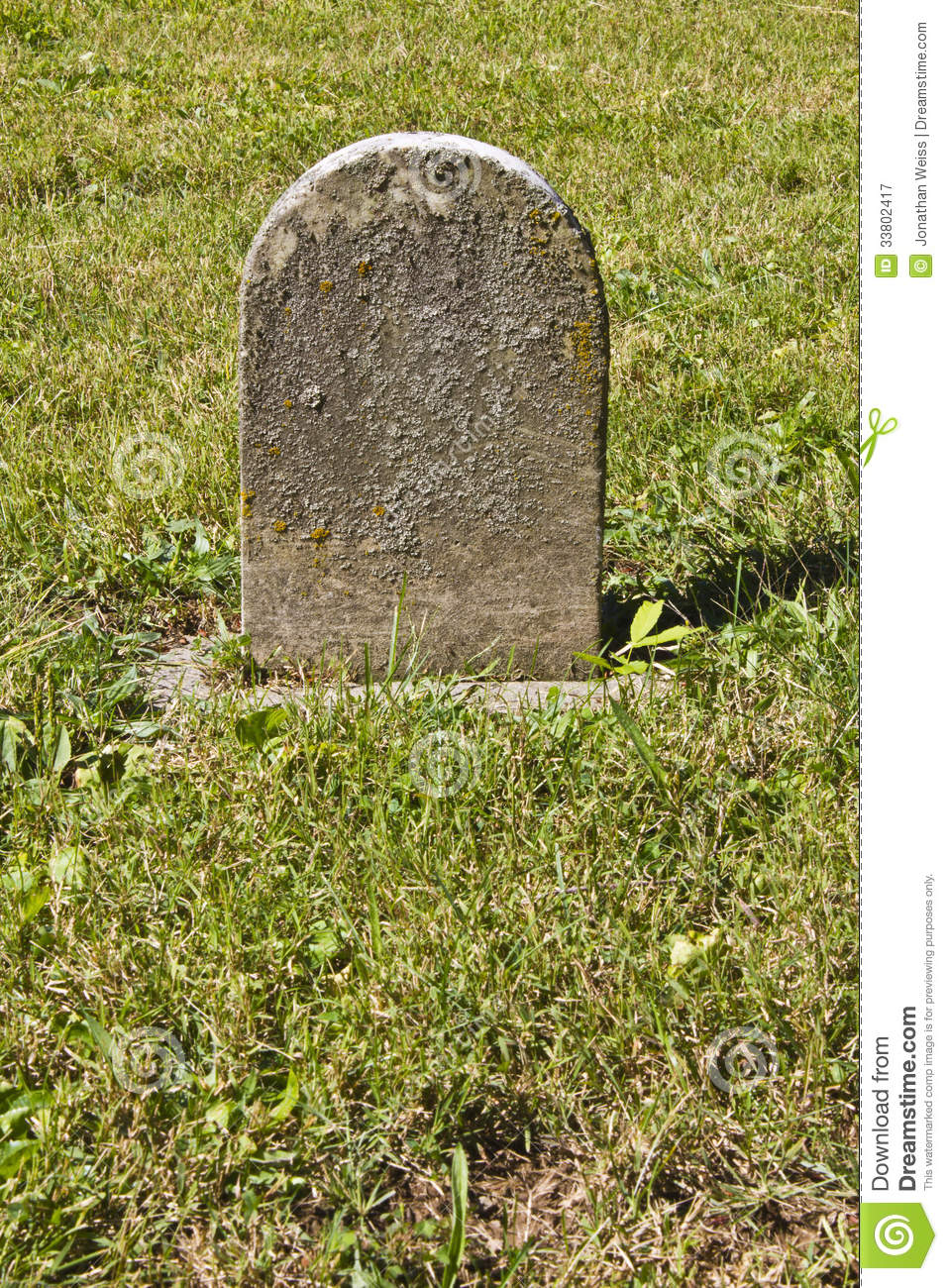 small unmarked headstone stock image image of headstone