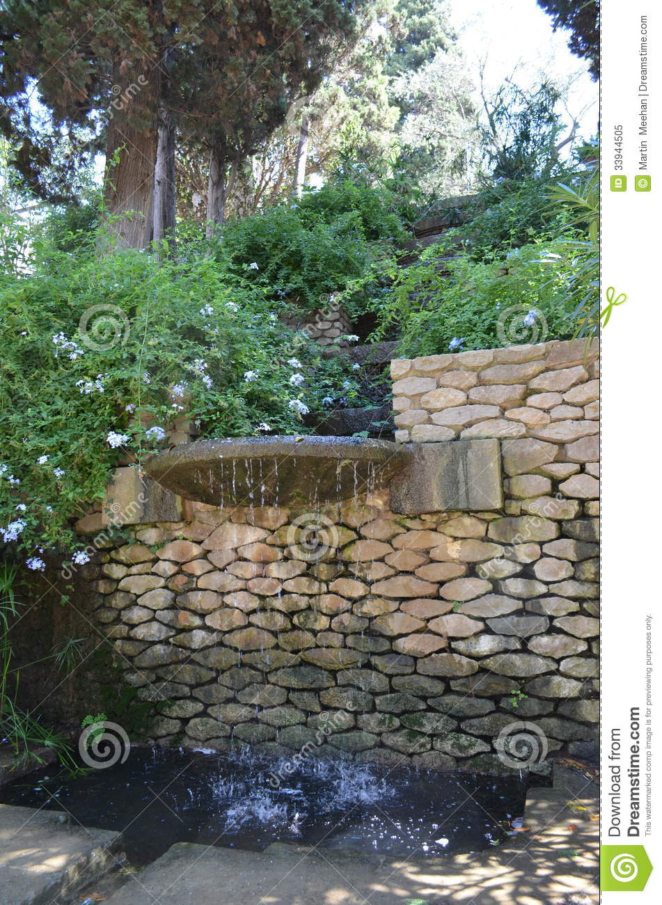 Small urban waterfall royalty free stock photo image for Urban waterfall design