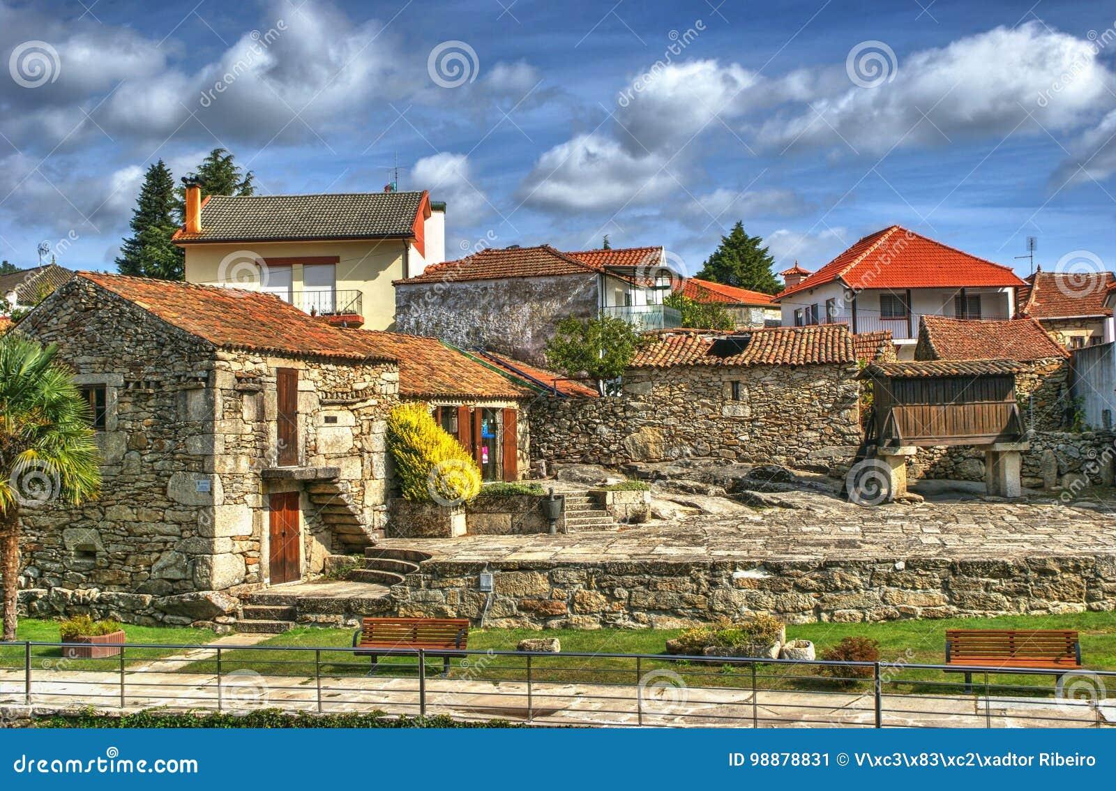Download Small village of Boticas stock image. Image of boticas - 98878831