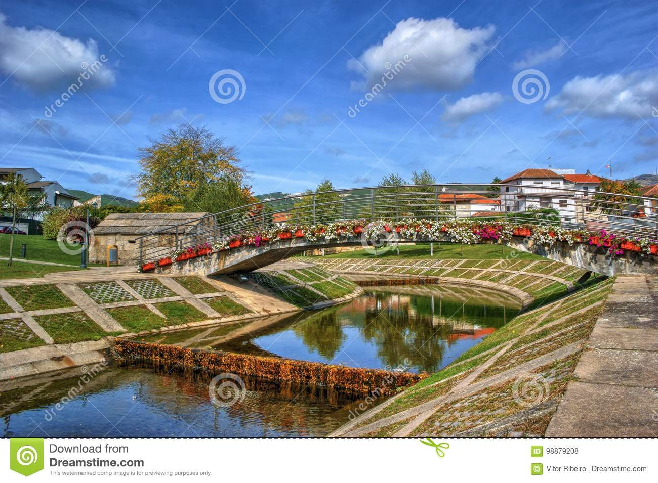 Download Small village of Boticas stock photo. Image of europe - 98879208
