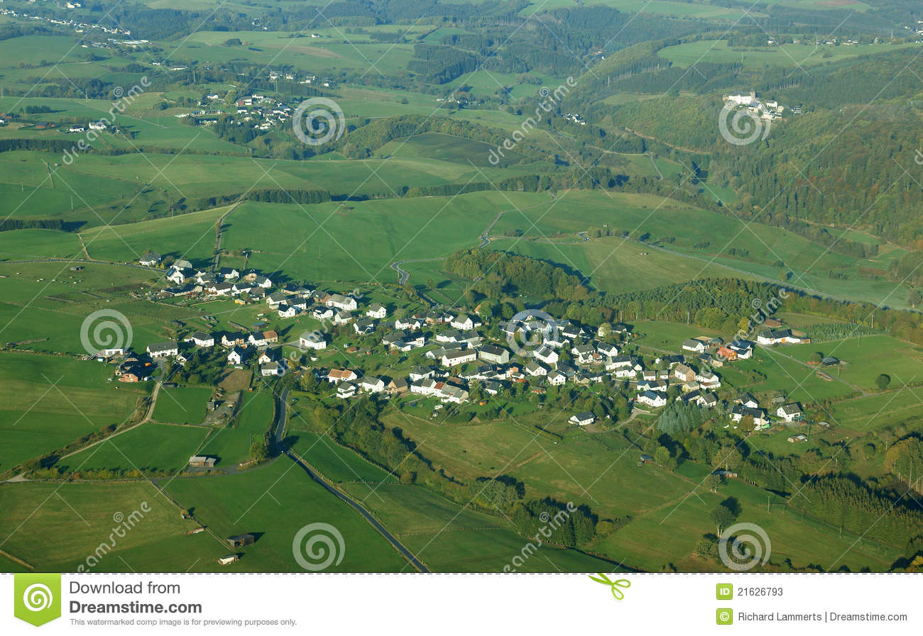 Small Village In Germany Stock Photos - Image: 21626793