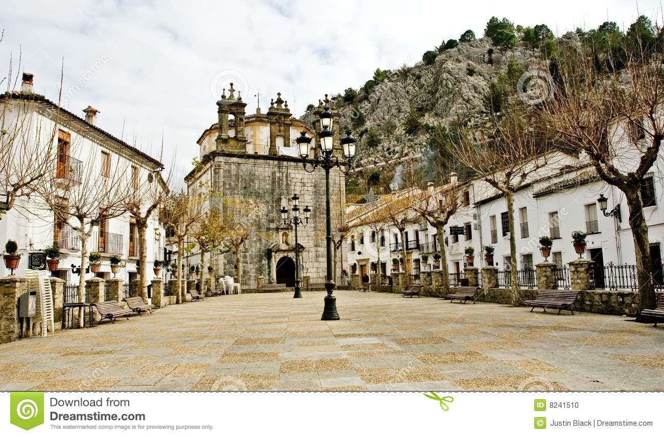 Grazalema Spain  City new picture : Small Village Of Grazalema, Spain Stock Photo Image: 8241510