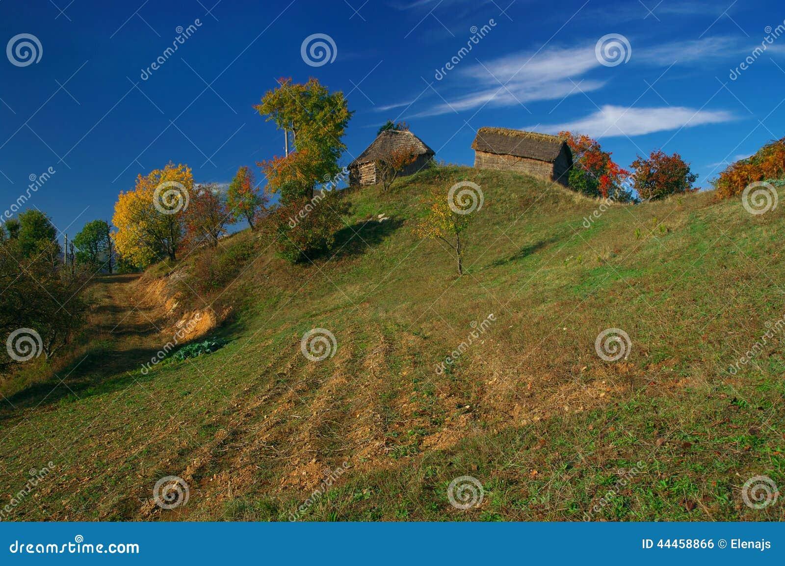 Small village in Rhodopes mountain, Bulgaria