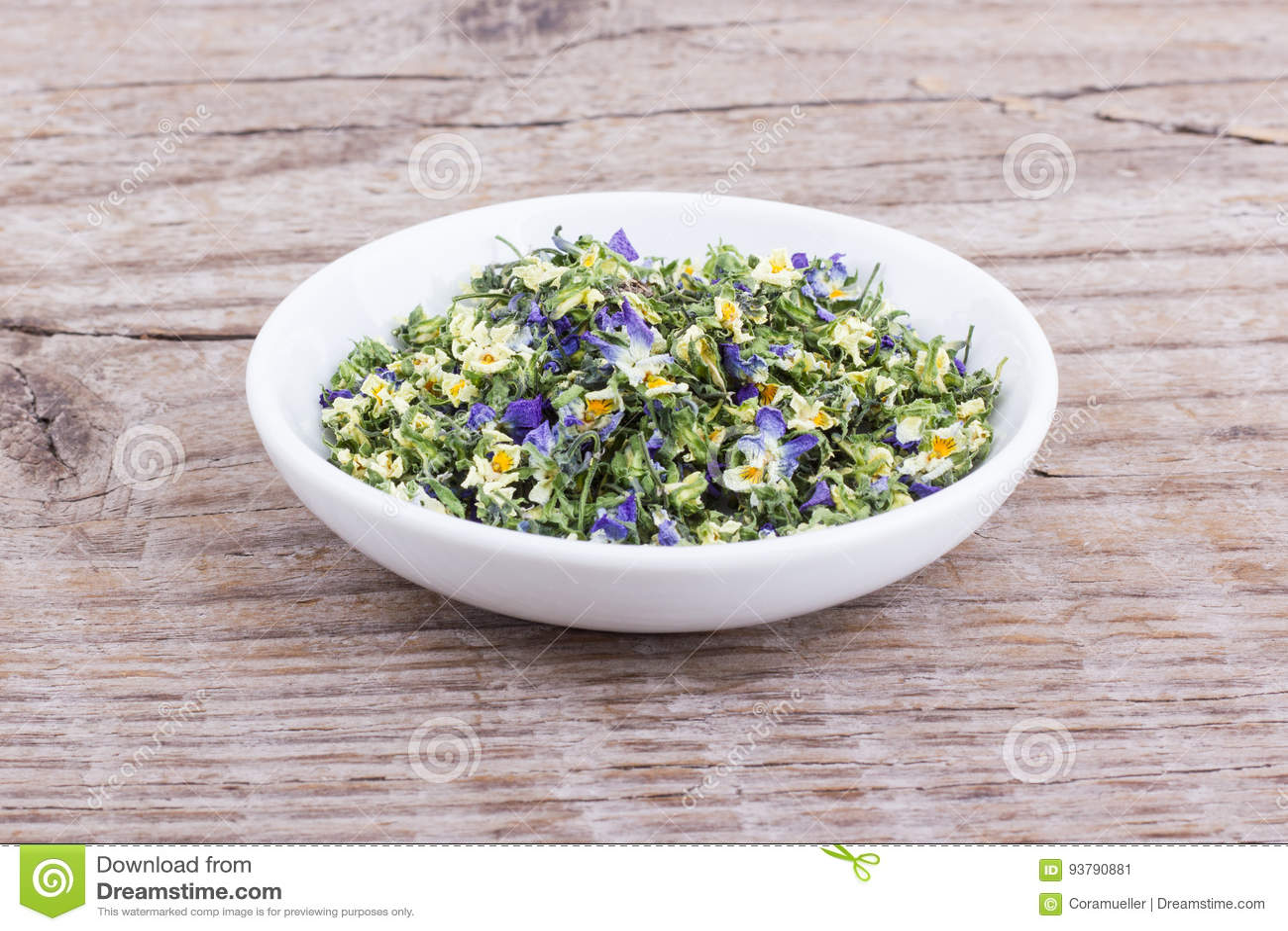 Small, violet heartsease