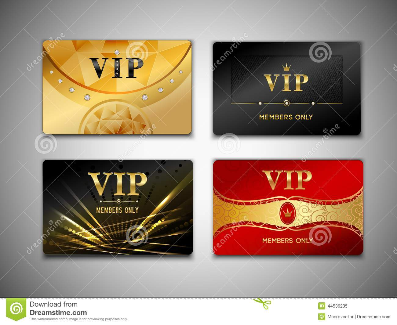 how to make vip cards