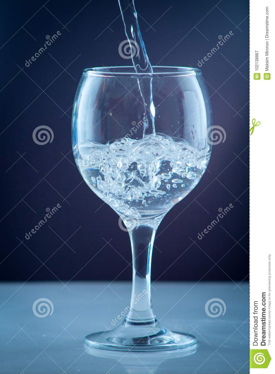small water bottle clear drinking cold mineral water stock image