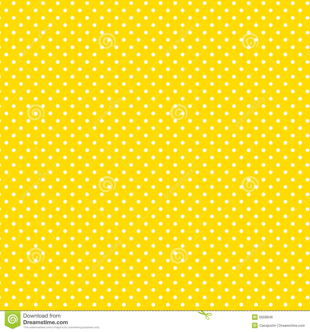 blue with white polka dots small white polkadots yellow background royalty free stock image