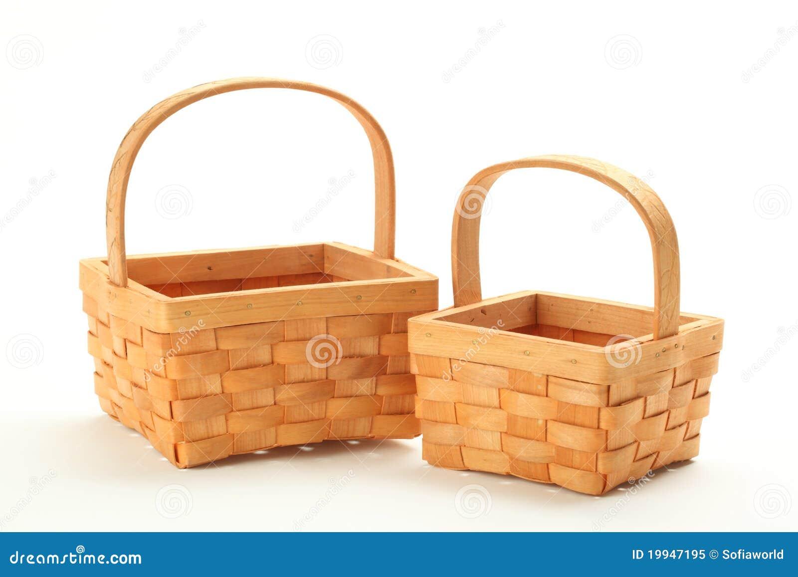 Small Wicker Basket Royalty Free Stock Photo Image 19947195