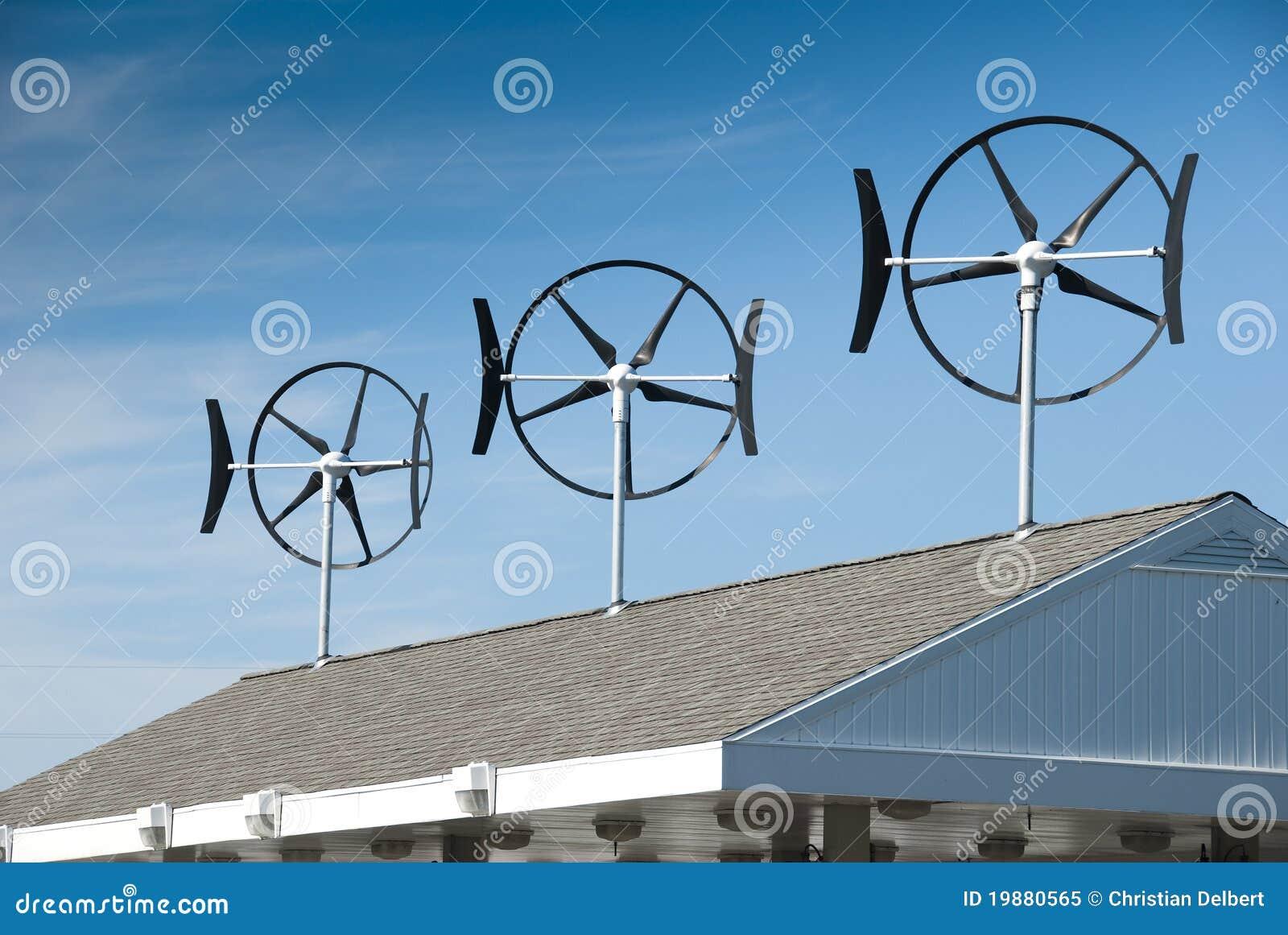Small Wind Turbines Royalty Free Stock Photo - Image: 19880565