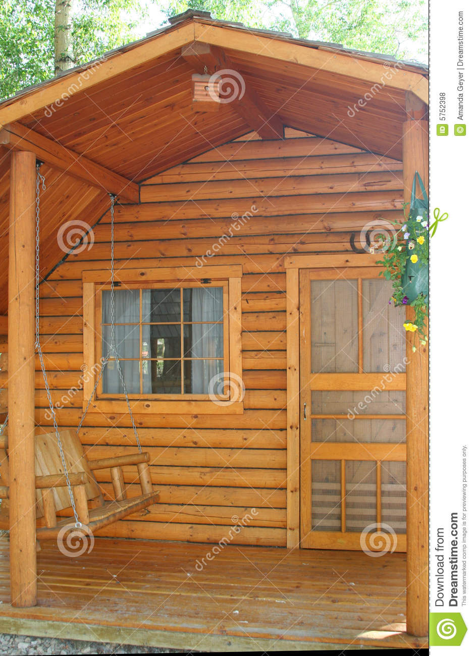 Small Wood Cabin Royalty Free Stock Photos Image 5752398