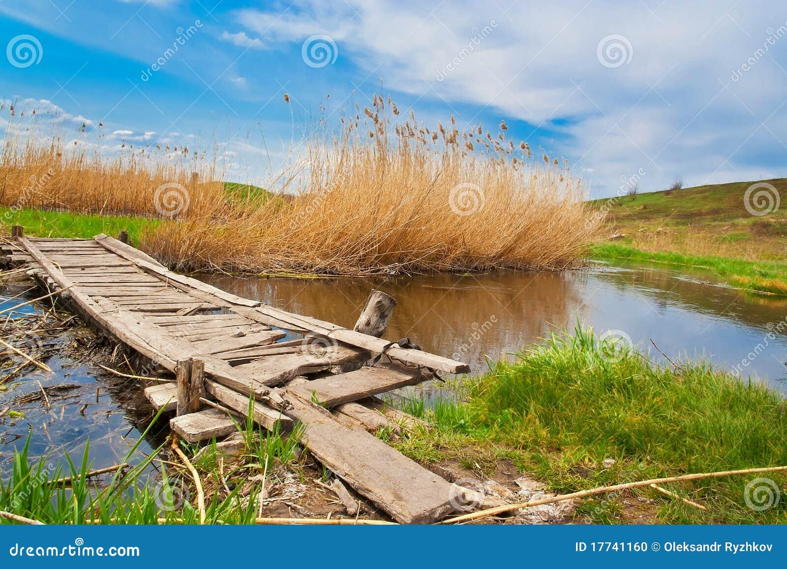 Small creek bridge plans