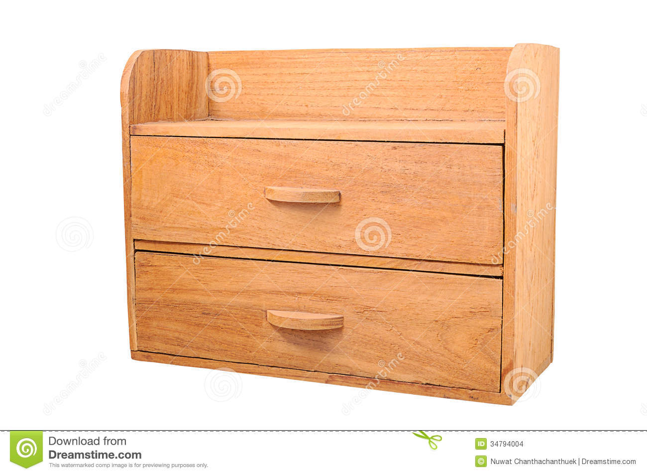 Royalty Free Stock Photo. Download Small Wooden Cabinet ...