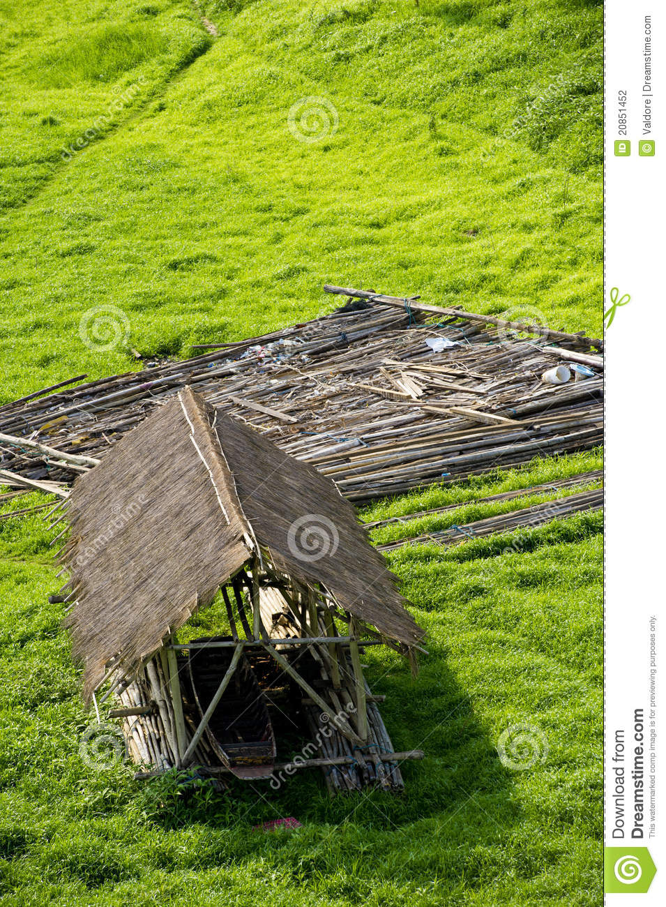 Small Wooden Cottage Stock Photography Image 20851452