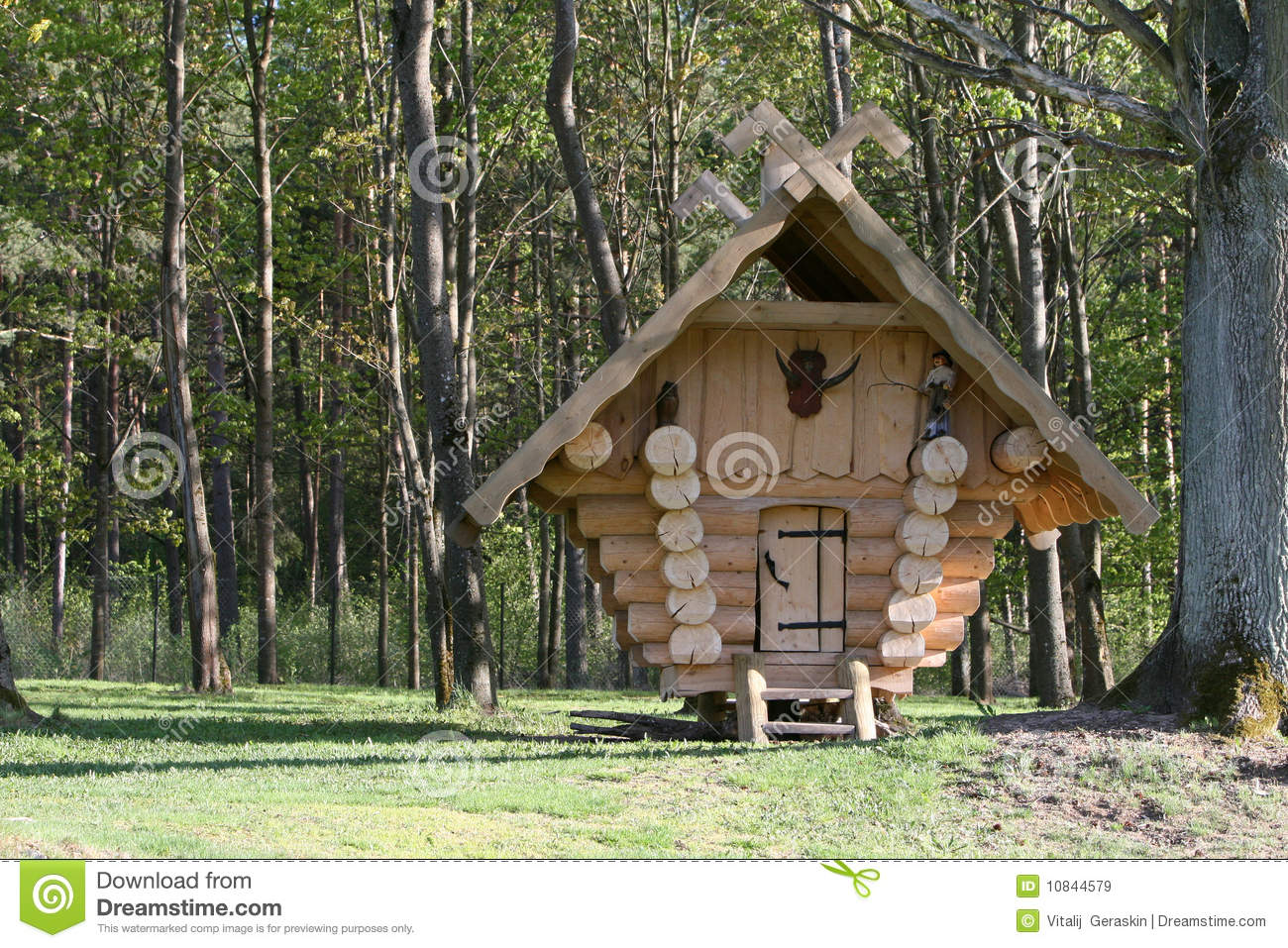Small Wooden House Royalty Free Stock Images Image 10844579