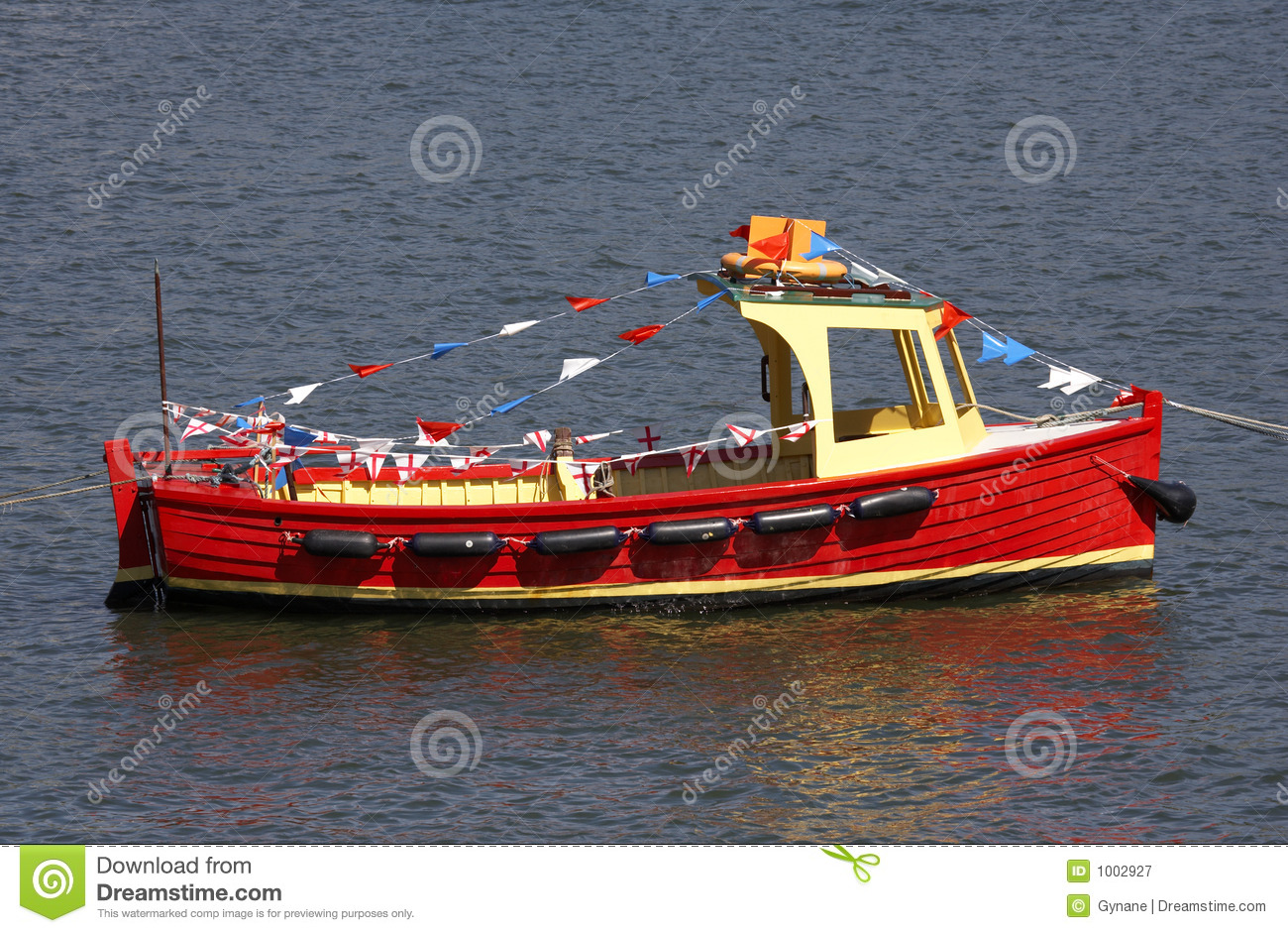 Small wooden motor boat stock image. Image of boating ...