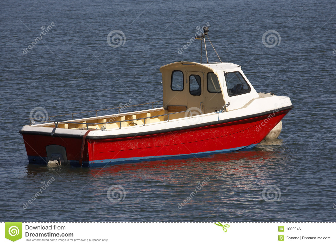 Small Wooden Motor Boat Stock Photo Image Of Colored