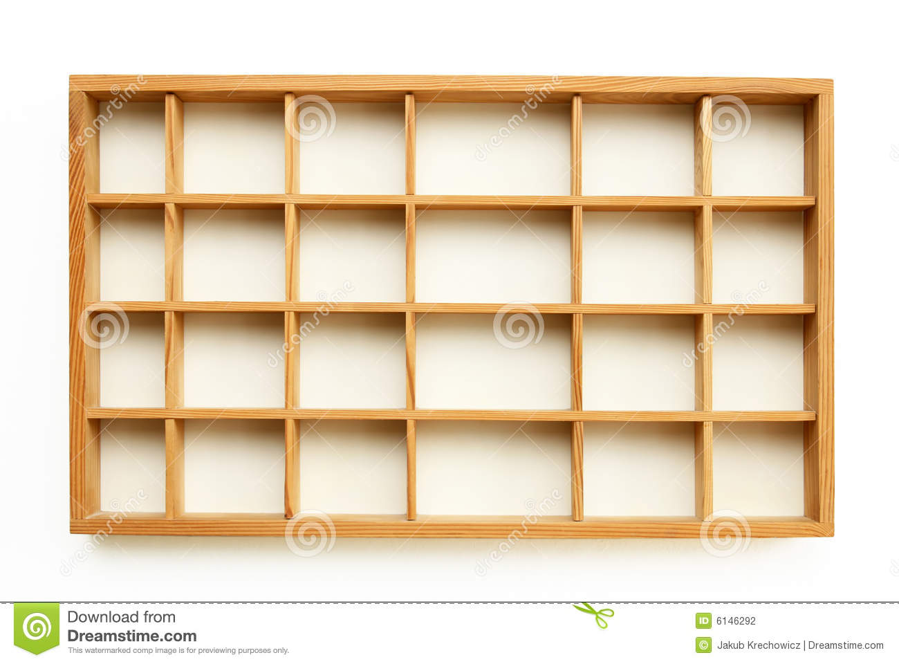 Small Wooden Shelves Stock Photography - Image: 6146292