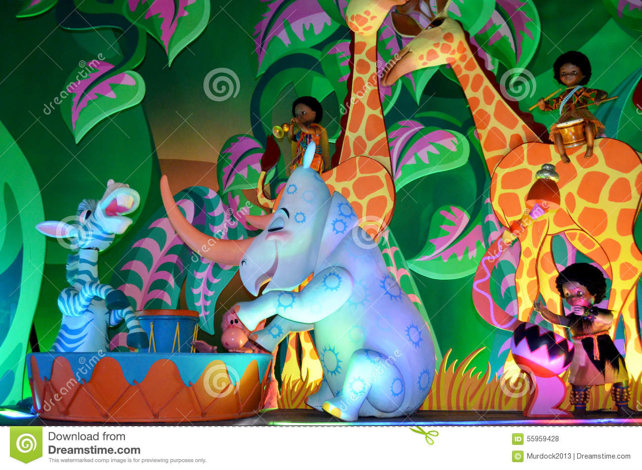 its a small world characters - Clip Art Library