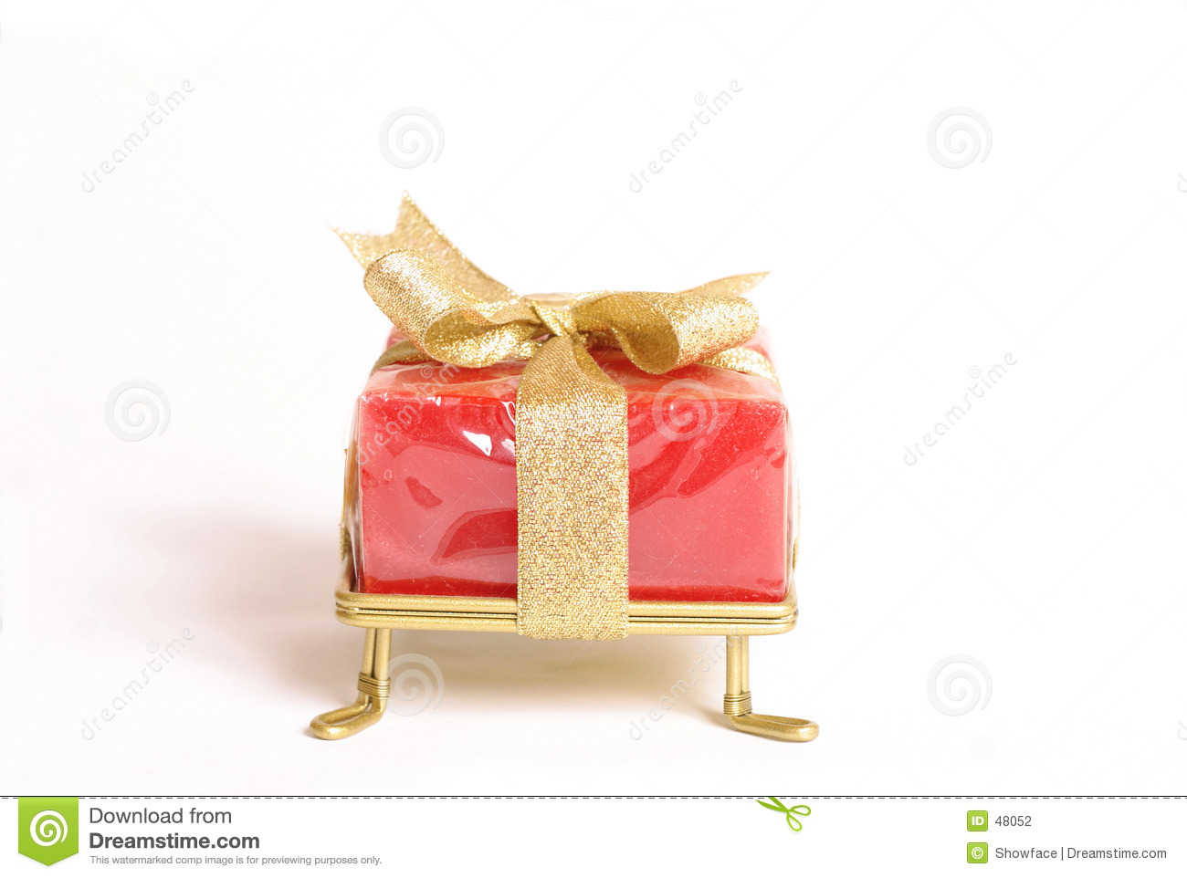 Small wrapped gift
