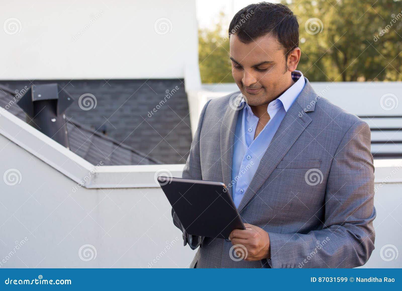 Smart affärsman