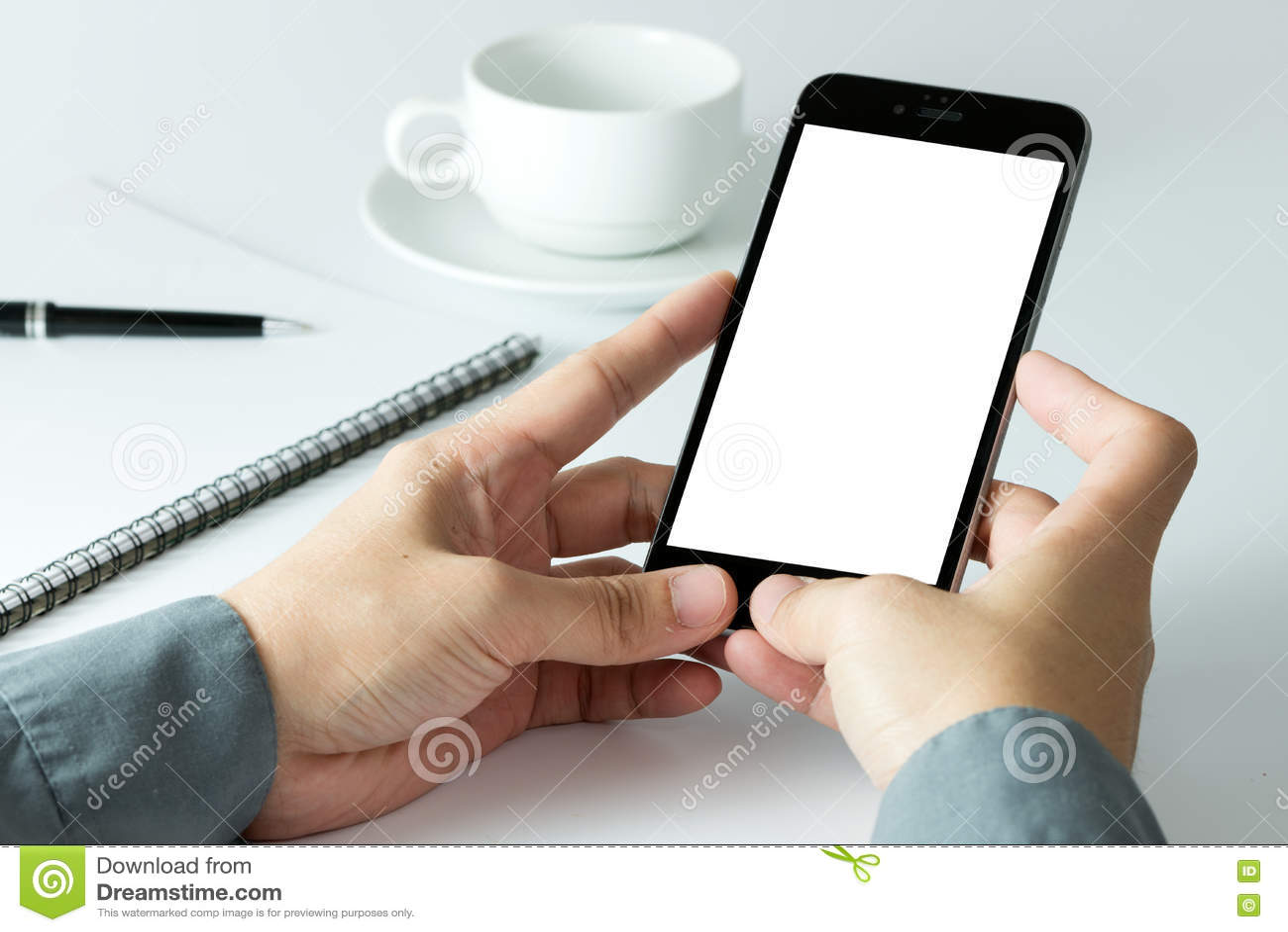 Smart använda för affärsmantelefon