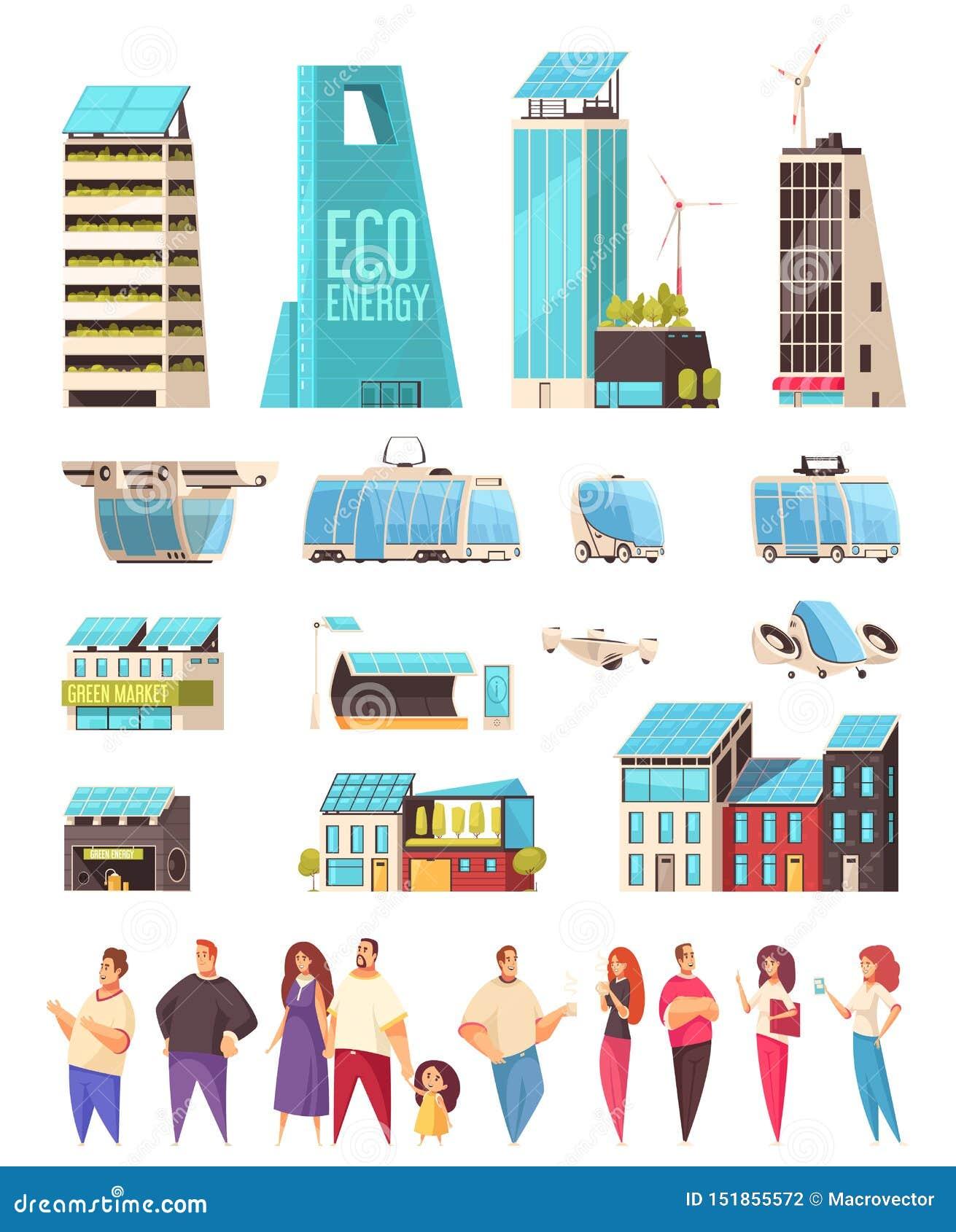 Smart City Residents Set