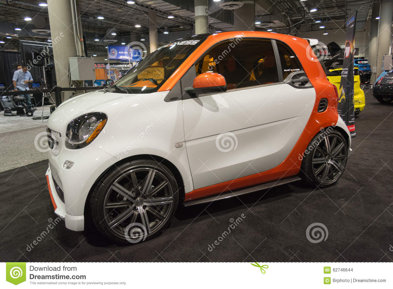 Smart on display editorial stock image image 62746644 for Dream motors los angeles