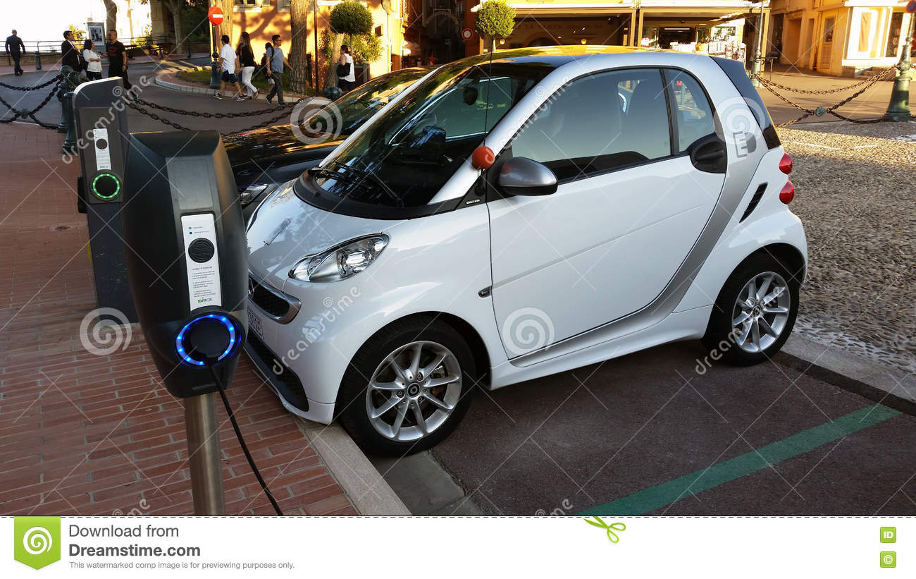 Parked On Electric Car Charging Warning