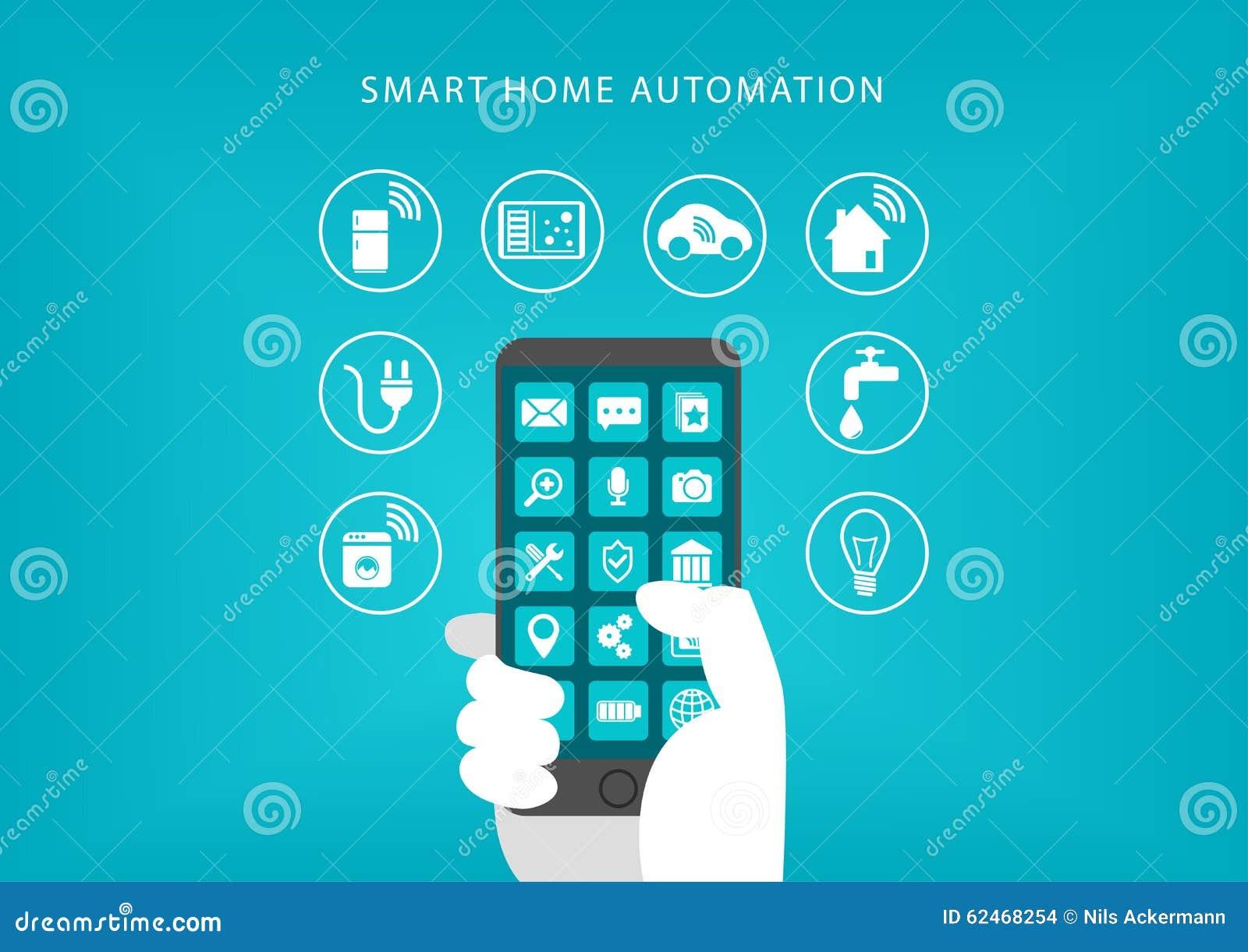 smart refrigerator concept stock image 70487617. Black Bedroom Furniture Sets. Home Design Ideas