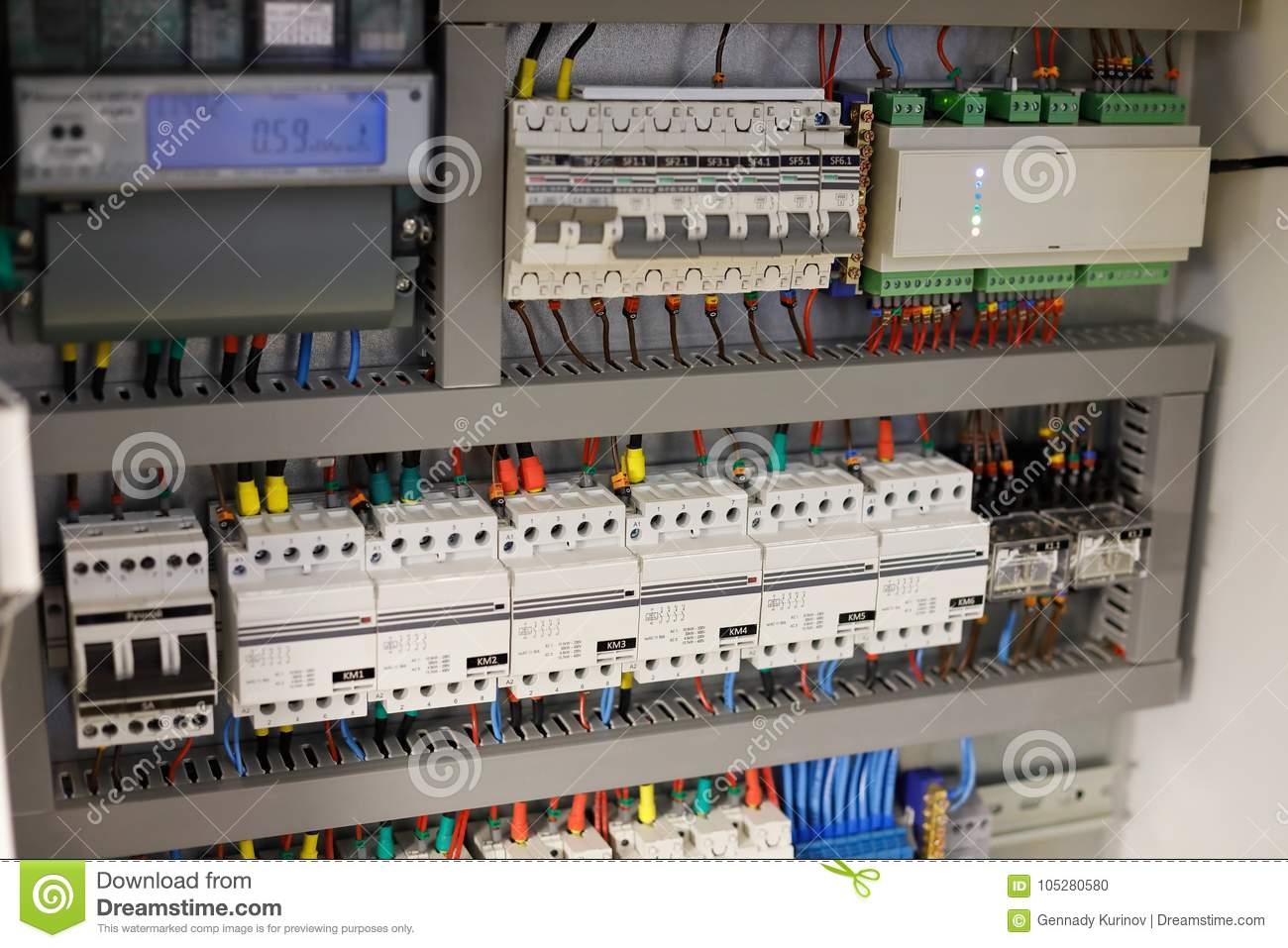 Astonishing Smart Home Automation System Stock Photo Image Of Electrical Wiring Cloud Hisonuggs Outletorg