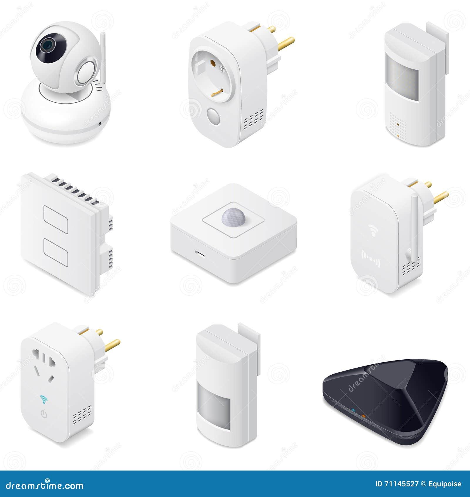 house appliances icon set cartoon vector cartoondealer. Black Bedroom Furniture Sets. Home Design Ideas