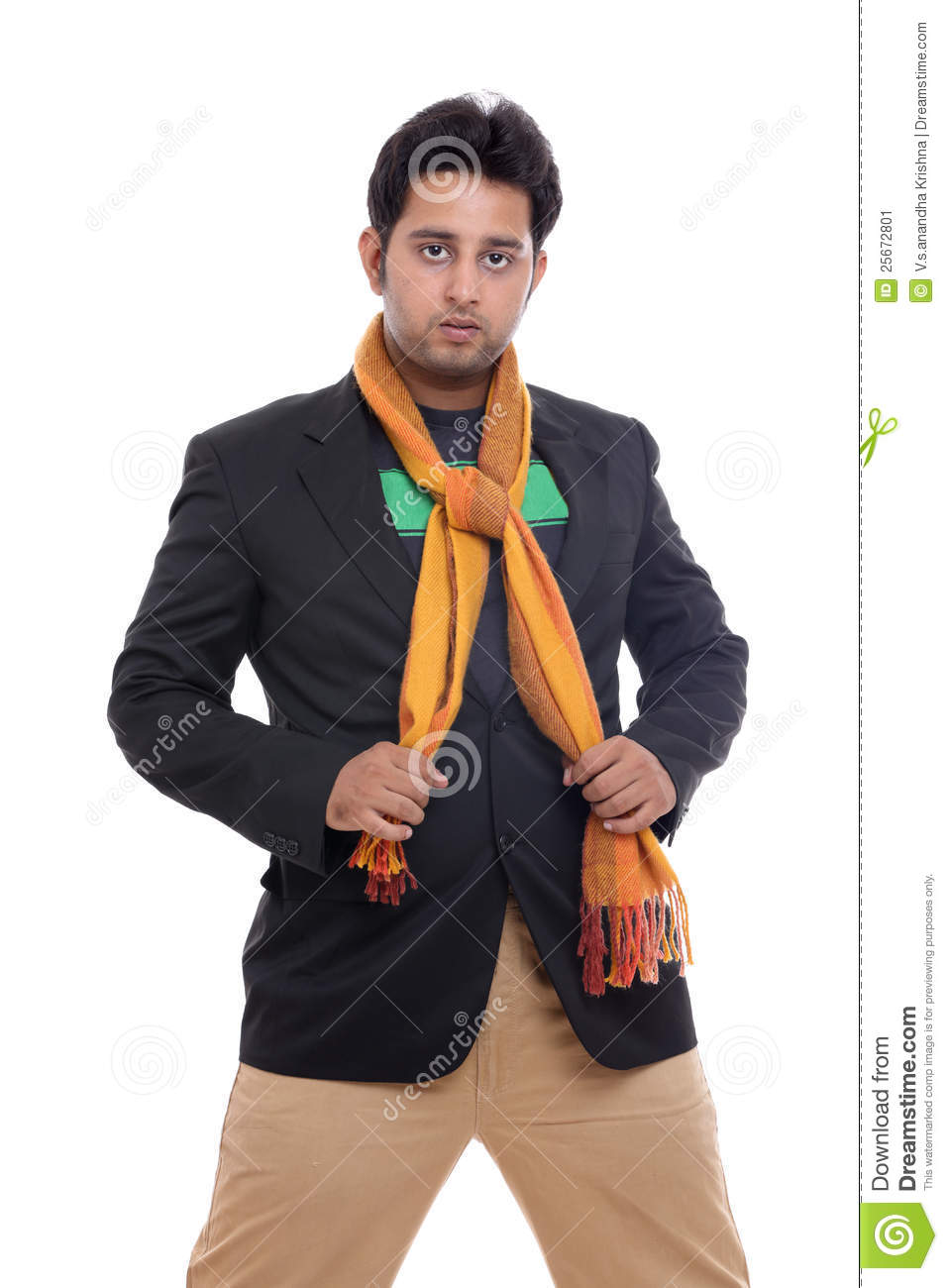 Smart Indian Young Man Looking Stock Photography ...