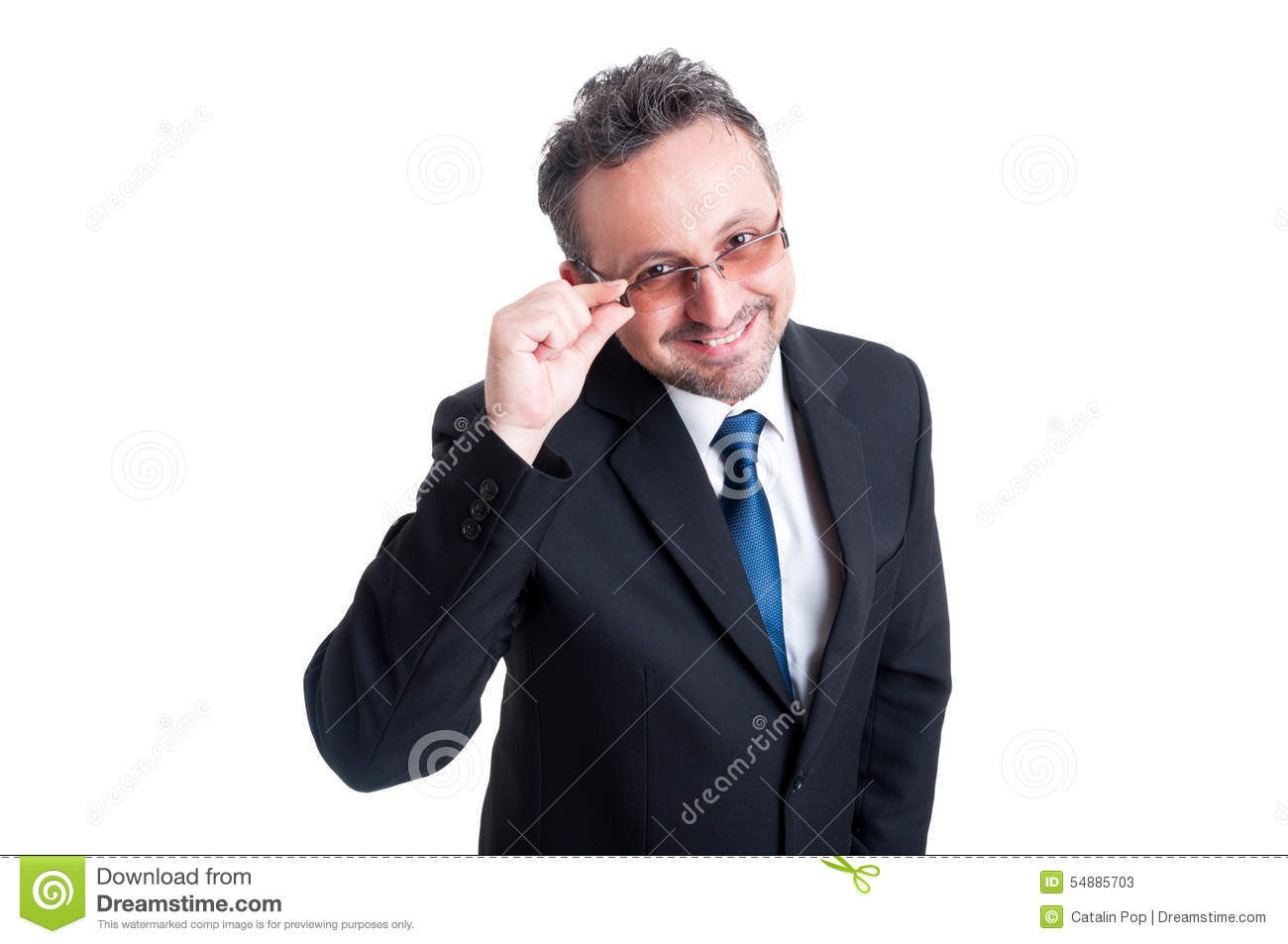 smart and intelligent business man wearing goggles stock photo smart and intelligent business man wearing goggles