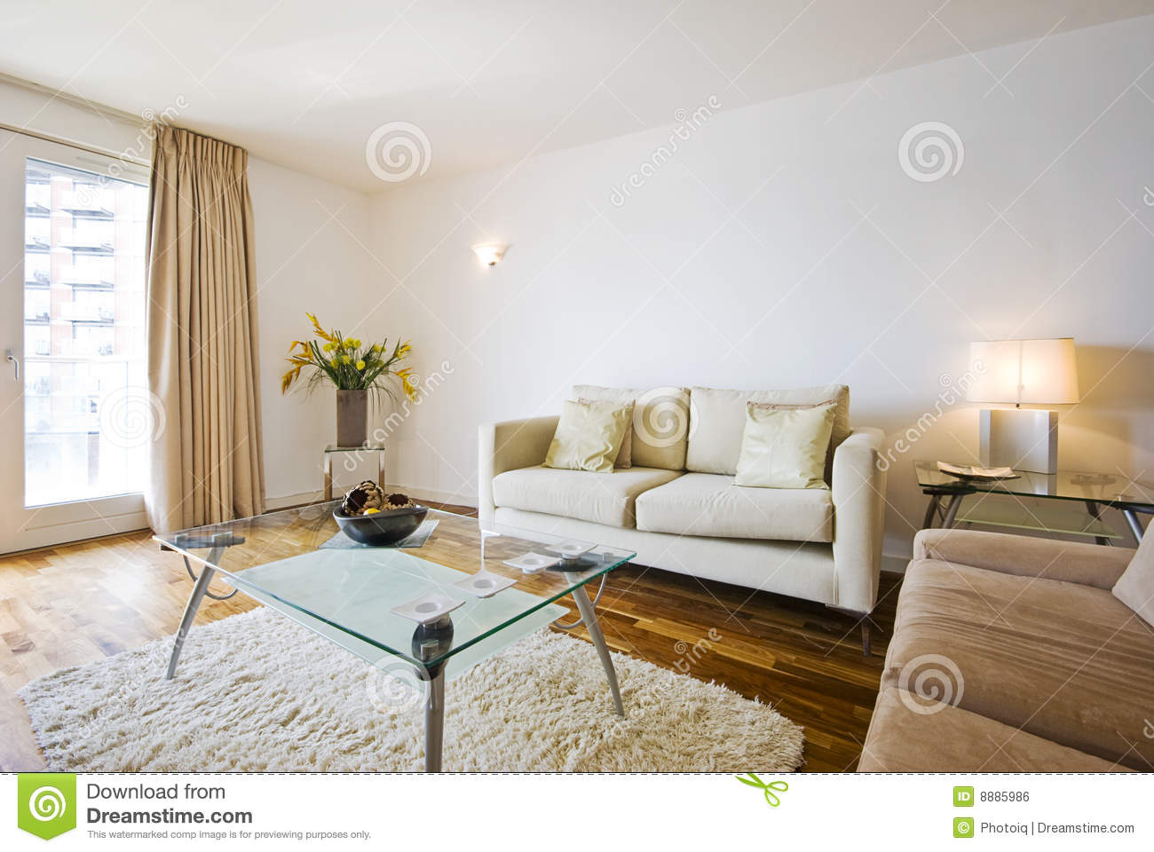 Smart living room - Smart Living Room Royalty Free Stock Image - Image: 8885986