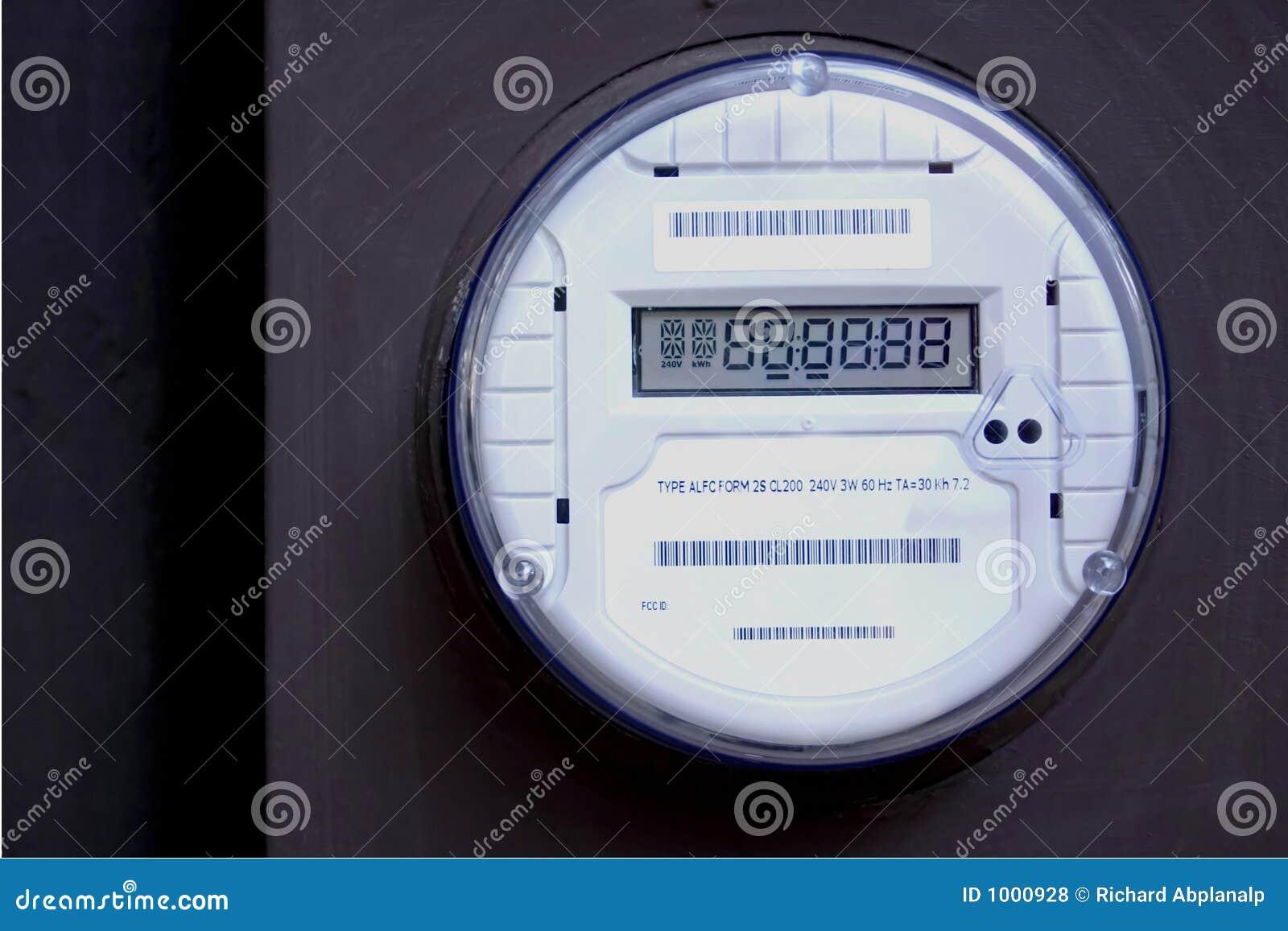 Smart Meter 2 Royalty Free Stock Photos Image 1000928