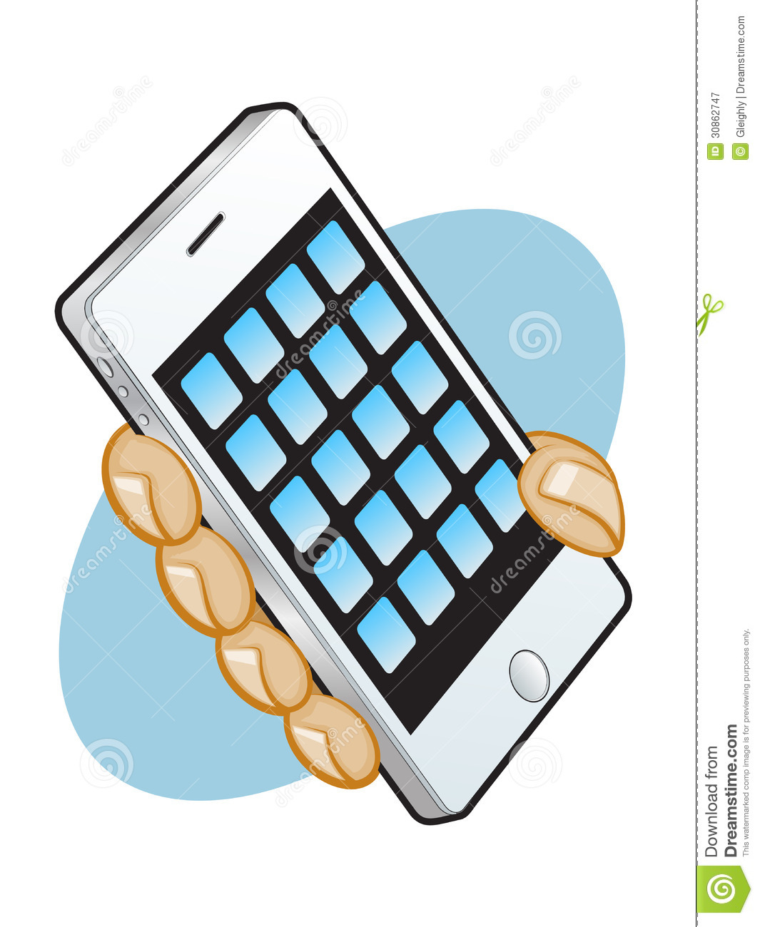 Smart Phone App Graphic Royalty Free Stock Photography ...