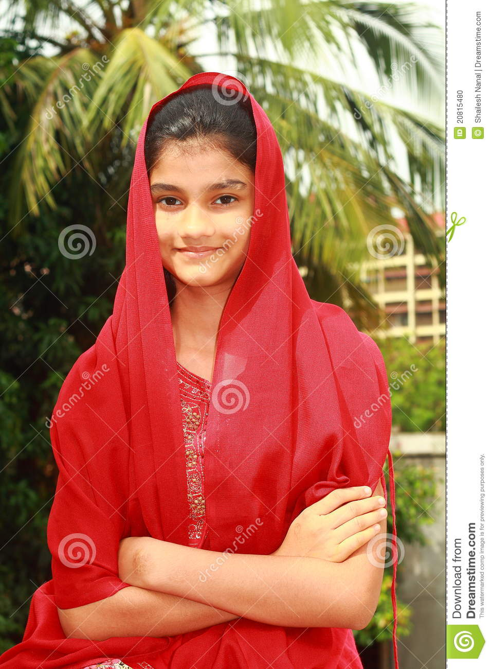 Smart Punjabi teenage girl stock photo. Image of expression - 20815480