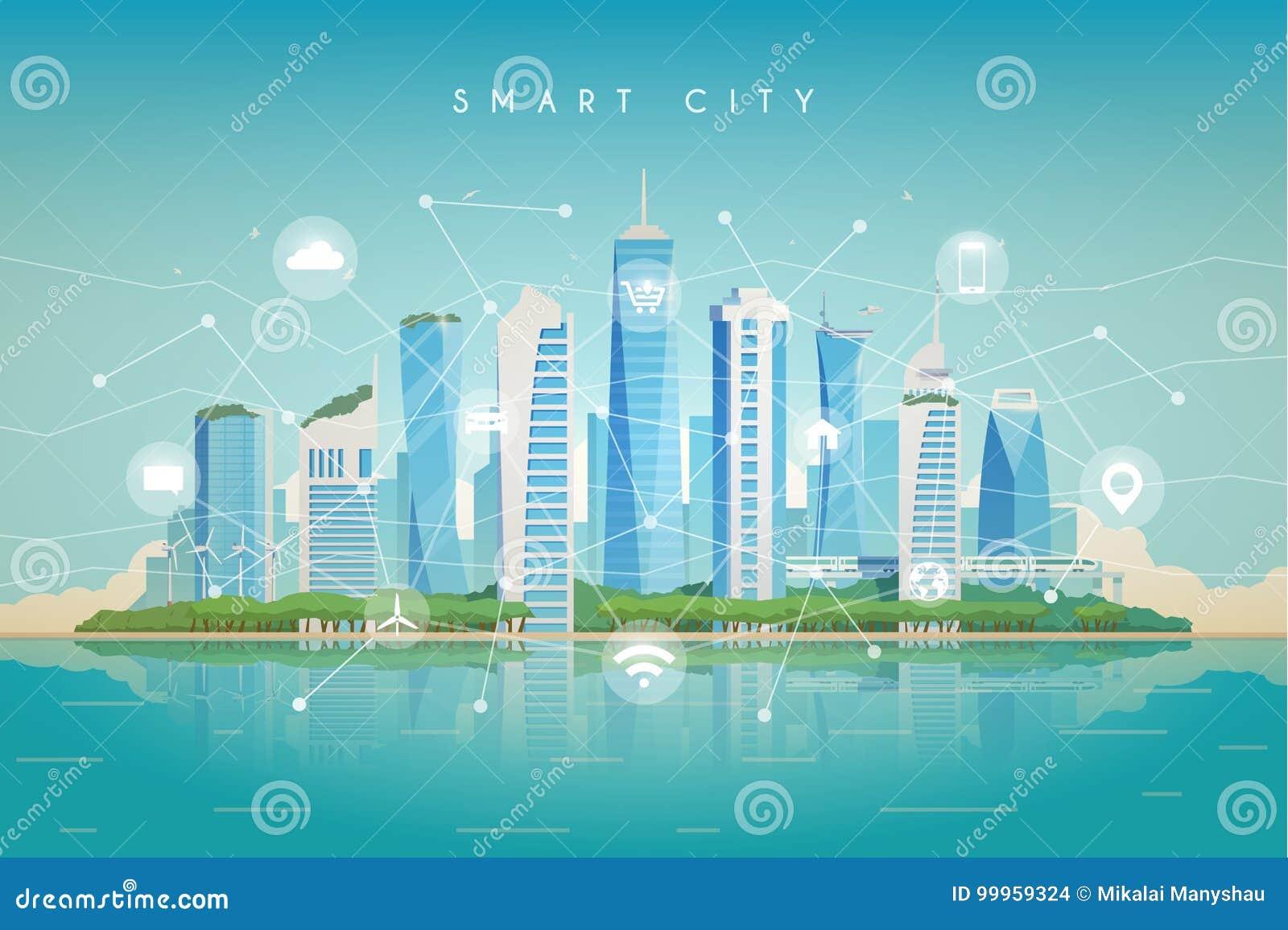 Smart stad