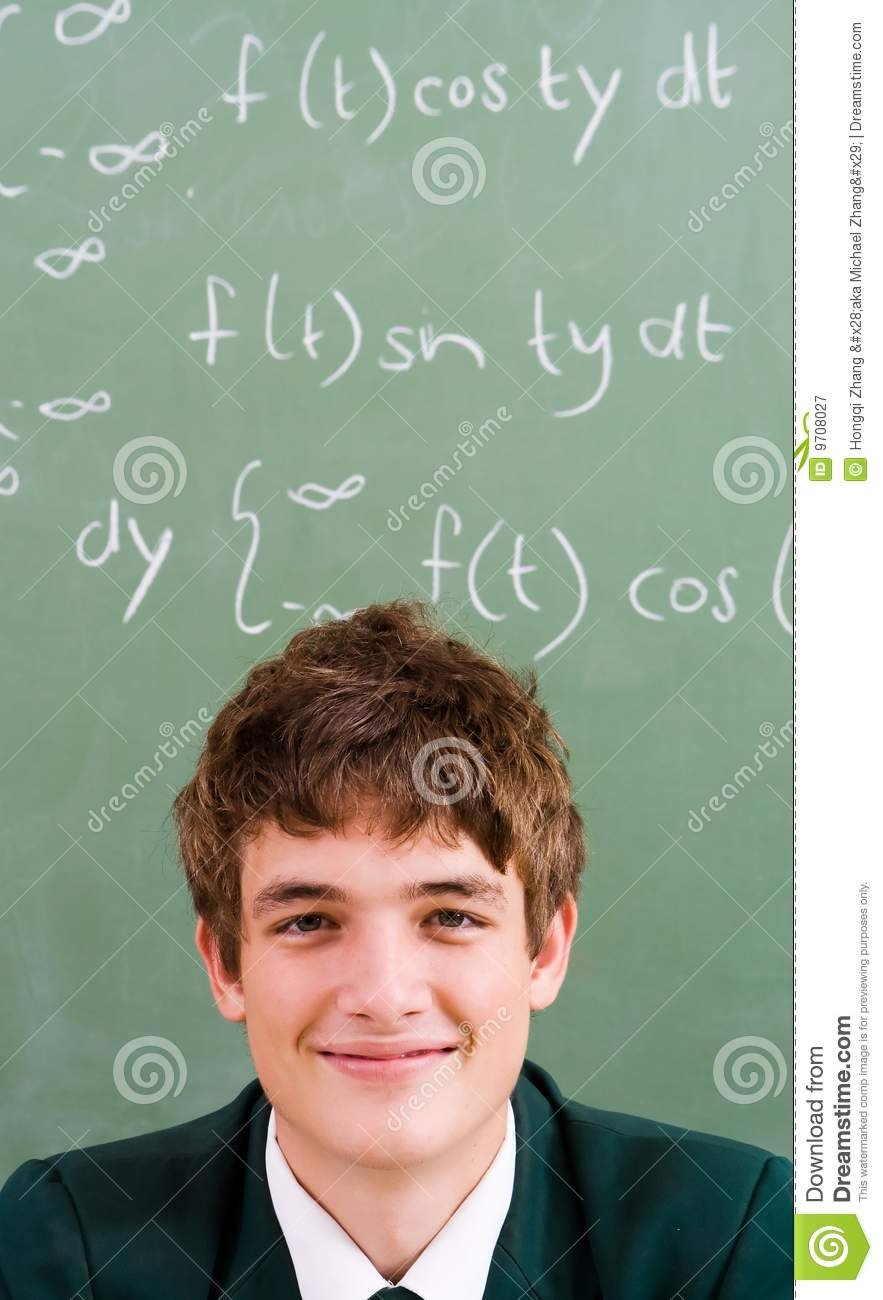 Smart Student Royalty Free Stock Photography Image 9708027