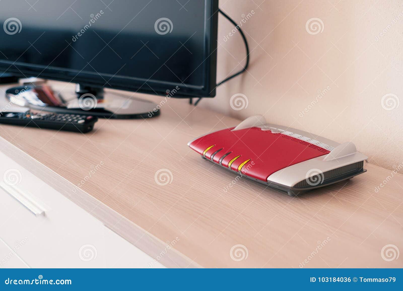 Smart tv förbindelse till internetmodemnätverket