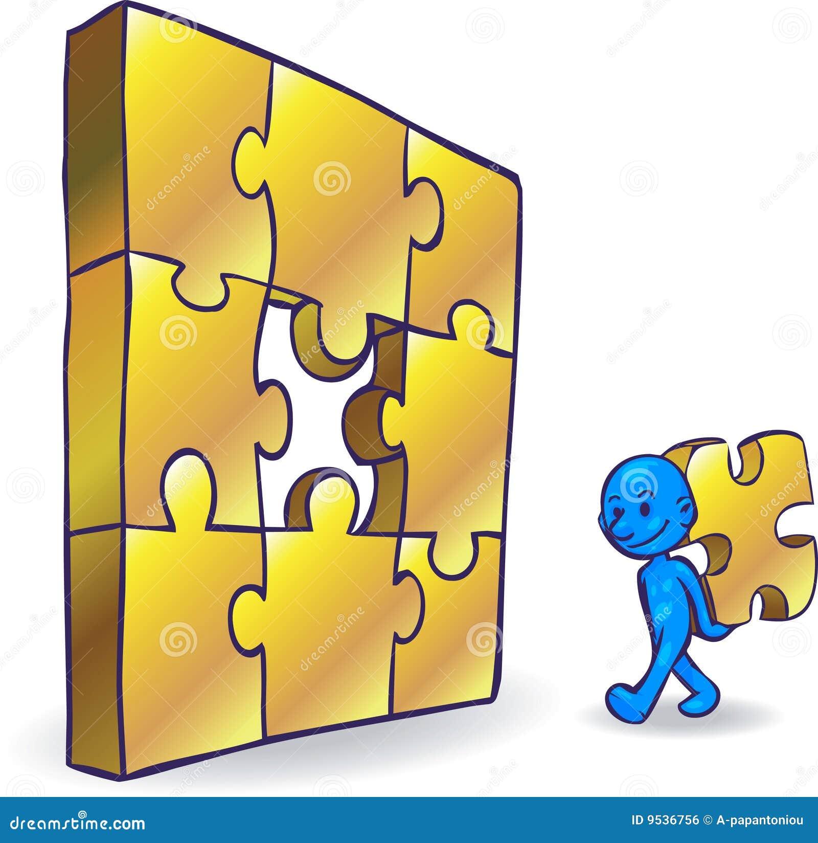 Smartoon Problem Solving Stock Vector. Illustration Of