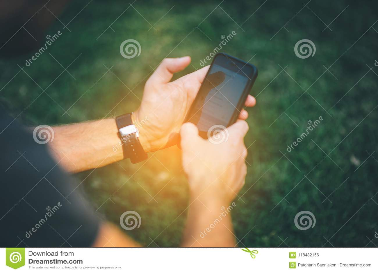 Smartphone Żywi środki Nowy wiek