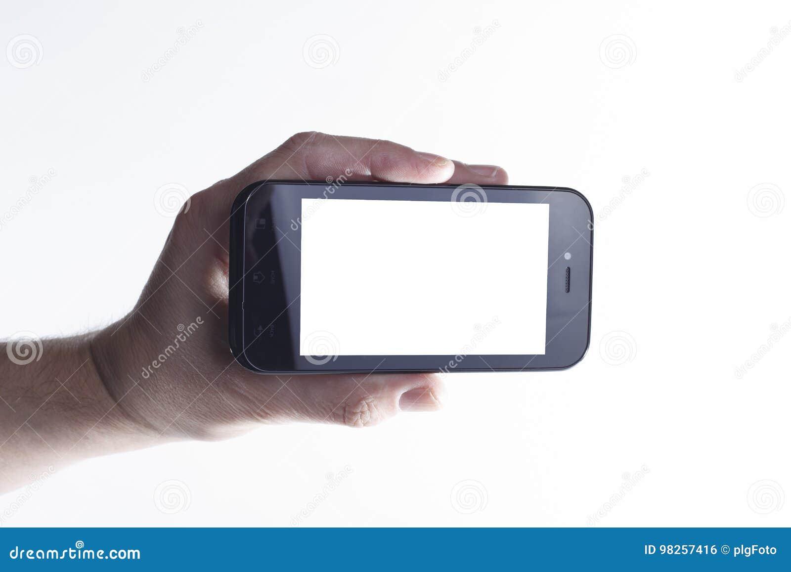 Smartphone в руке
